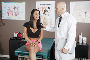 Peta Jensen has a perfect body and a beautiful face, but she's also got one huge problem: she's never had an orgasm before! Lucky for her, Dr. Sins is in the house to guide her, gently instructing her on how to rub her tight pussy until she's moaning with