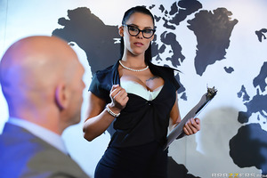 The leaders of the free world got a wild wake-up call today when Peta Jensen convened them for a special meeting. After showing these heads of state a transfixing video of bare breasts, Peta rattled off her demands. Subliminal messages in the videos convi