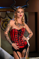 Kleio Valentien is a street-walkin' slut out in search of her next lay when she gets a call to meet a client. The strange decor throws her for a loop at first, but there's no denying the erotic power of being treated like a whore. When her client Danny D