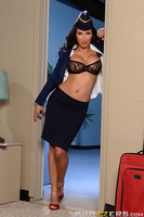 Lezley Zen is a jet-setting slut, a flight attendant with an appetite for cock who gets laid on the regular from eager cocks all over the world. But when her latest fling doesn't show up as scheduled, she has to go searching for her daily dose of dick, an
