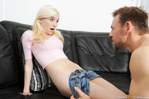 When a perky, hot blonde teen moved in next door, Erik wasted no time racing over to creep. After inviting himself inside to play pool with her father, Erik worked every angle to get a piece of her sweet ass. Finding out Piper had only just turned 18 year