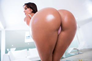 There's no denying it: Franceska Jaimes has one of the nicest asses on the planet. So who better to pound that juicy booty into the next century than the one who loves that ass most, the wild man himself Nacho Vidal. Prepare yourself for the anal fuckfest