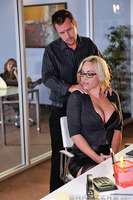 As much as Julian Ann might have had a problem with her secretary flirting with the CEO Mr. Jones, she should really have known better than to start a war with the big boss over who got to fuck her. When Olivia said she wasn't allowed to have any fun with