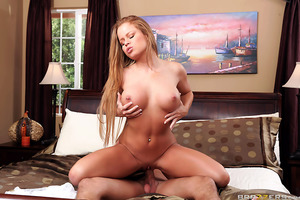 Nikki Delano's husband should have known better than to just invite the neighbor over for dinner without asking. Sitting at the table with Bill Bailey got Nikki so horny for a piece of his cock, she started daydreaming about cheating on her man. When Bill