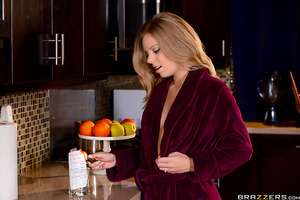 Newlywed Trisha Parks is already tired of her married life. She has no time for herself and as a horny housewife, she has no one to fuck since her husband is away at work. Trisha is left all by herself and is tired of the same old list of chores her husba