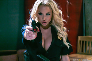 Officer Summer Brielle has criminals Xander Corvus and Ramon Nomar cornered. This could be the bust of her career but Summer has more pressing needs than career advancement. She wants to get fucked, and a rough fucking from a pair of hardened knucklehead