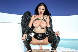 The wait is over: Jasmine Jae's first anal debut is now a Brazzers dream cum true! Watch as the busty British angel gets down and dirty and takes a sturdy cock up her ass for the first time! With her heavenly body, her pussy dripping wet, and her divine b