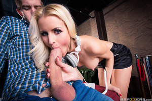 At the hottest dance club, Danny D runs into his old flame, the sluttiest DJ on the planet: Lynna Nilsson. Not only does she scratch, she rocks out with her tits out and causes Danny some regret for ever breaking up with her in the first place. But the go