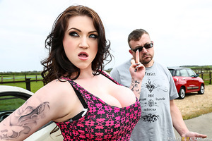 Sex addict and proud nymphomaniac, Harmony Reigns has arguably the biggest and best tits in porn! She's also a little British cock-whore who absolutely loves to fuck! So when her parents decide to send her to the country to change her fucking ways, cock-h
