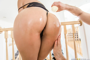 How many fingers can Bill slip into Shay Fox's big wet ass? With a thick and juicy MILF booty like that, you better believe she can fit more than one! Implausible as it may seem, this is only the second scene ever shot that shows off Shay's unique anal ab