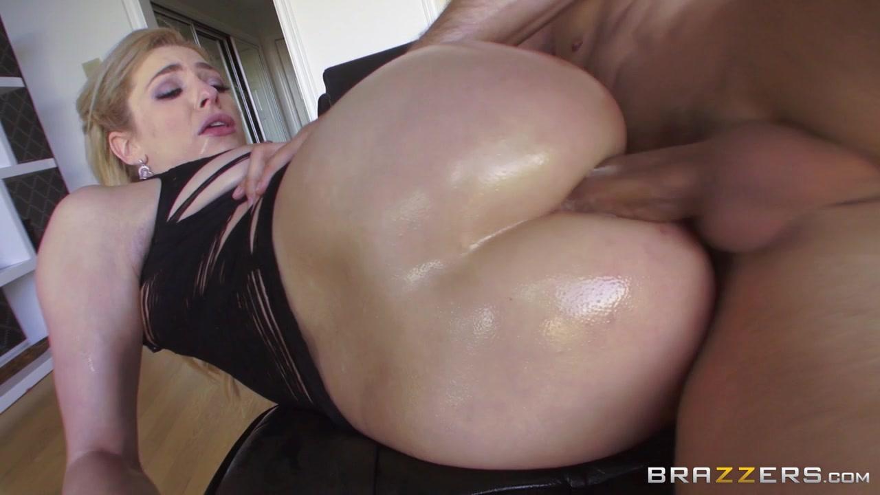 Busty brunette engulfs a big dick