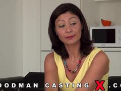 Mature sex casting woodman