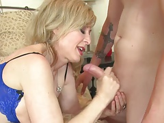 Cunnilingus nina hartley