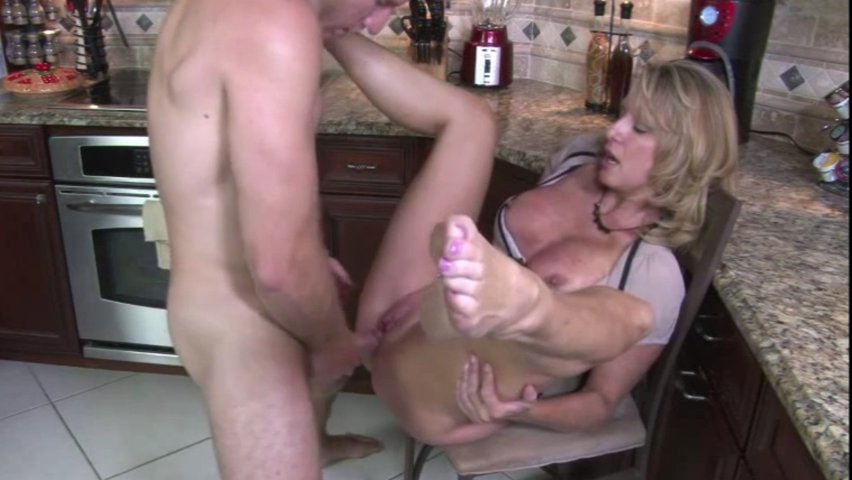 Exciting And Wild Kitchen Sex With Hot Milf Jodi West
