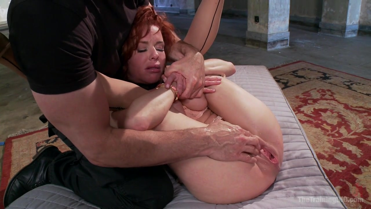 Tied Up Lesbian Sex Slave