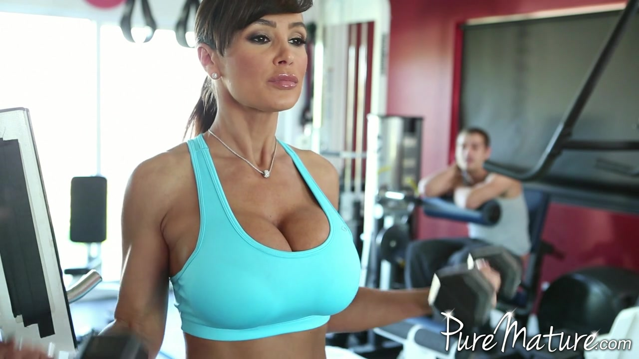 Sex lisa ann gym