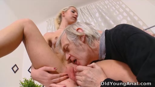 Nelya Gets Her Breasts Licked And Sucked By Her Older Man